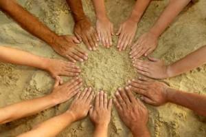 sand-hands